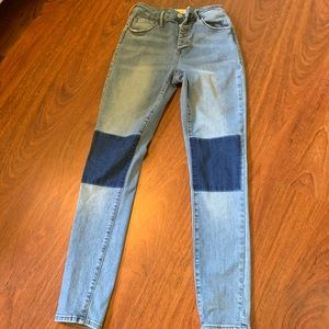 Pacsun jeans with knee patch
